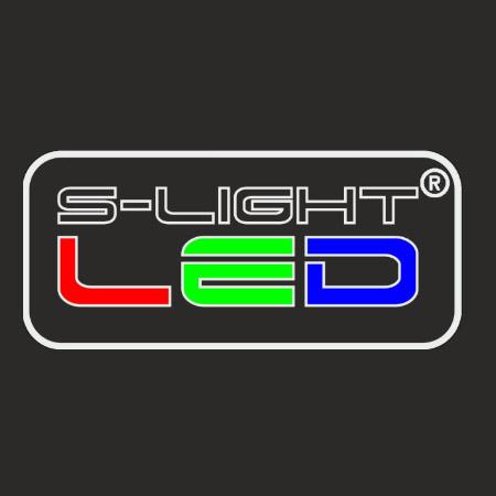 ISOLED 112075 Festhető gipsz lámpatest, négyzet alakú szatén üveg előlappal  120x120 mm