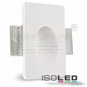 ISOLED 112170 Festhető gipsz lámpatest oldalfalba süllyeszthető