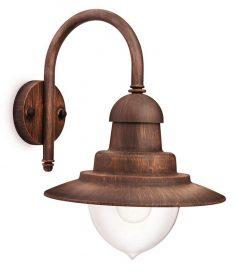 PHILIPS  Raindrop wall lantern bronze 1x60W 230V01652/06/16