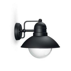 PHILIPS  Hoverfly wall lantern black 1x60W 230V17237/30/PN