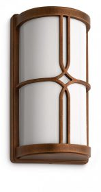 PHILIPS  Nectar wall lantern bronze 1x20W 230V17249/06/16