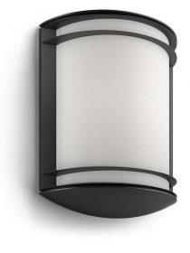 PHILIPS  Antelope 4000K wall lantern black 1x6W17320/30/P3