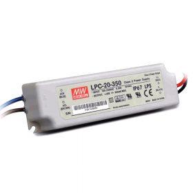 MeanWell   20W  LPC-20-350 20W  9-48V/350mA LED tápegység
