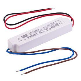 MEANWELL  18W  LPH-18-12   18W-12V  LED tápegység