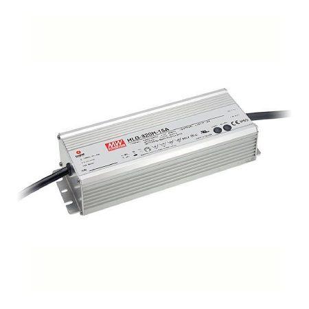 MeanWell 320W HLG-320H-12A IP65 fém 12VDC