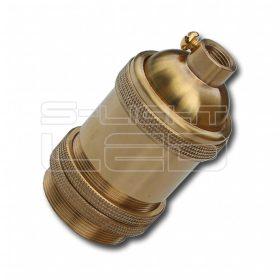EDISON E27 foglalat CB002B antik réz