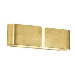 IDEAL LUX CLIP AP2 MINI Oro arany színű fali lámpatest