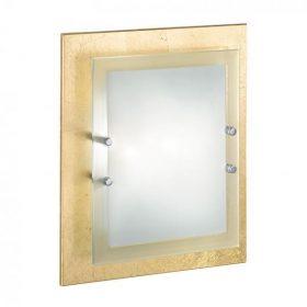 IDEAL LUX ALASKA PL2 ORO arany mennyezeti lámpa