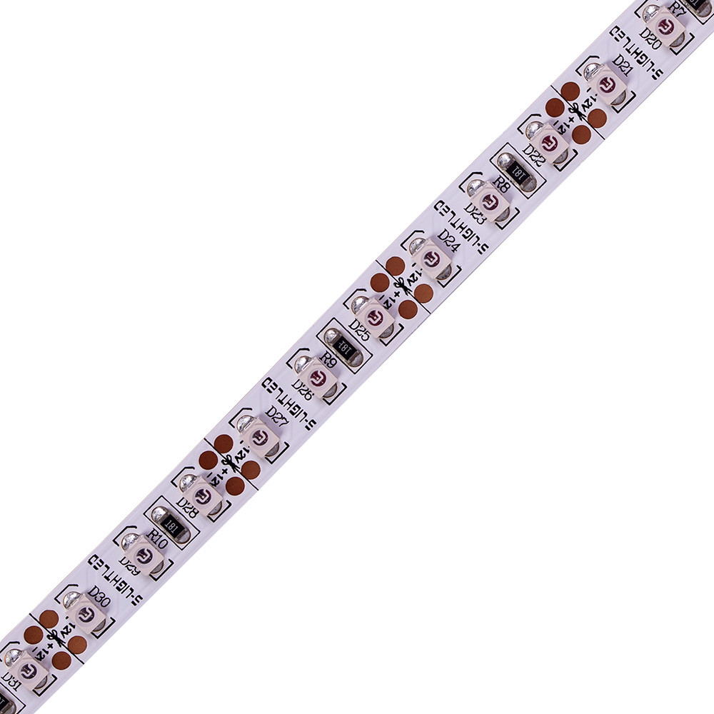 SL-3528WN 120-KÉK  S-LIGHT LED SZALAG 120LED/méter  IP20 beltéri  kivitel