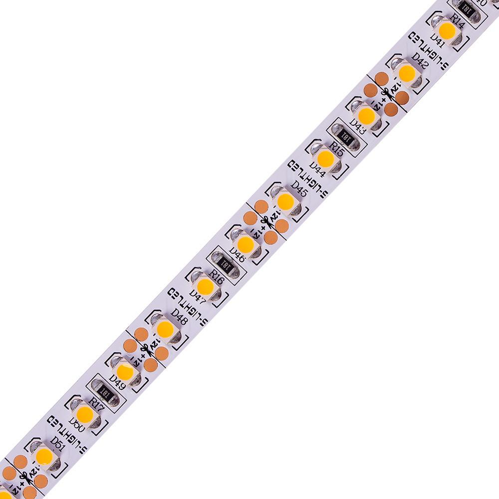 SL-3528WN 120-SÁRGA S-LIGHT LED SZALAG 120LED/méter  IP20 beltéri  kivitel