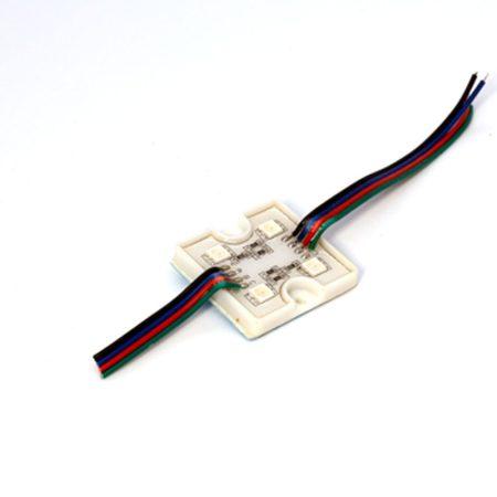 SL-G-M4-RGB-5050 négyzet LED modul 4db 5050 RGB LED