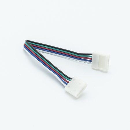 RGBW LED szalaghoz toldóelem vezetékkel
