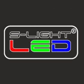 FLAT ALU LED profil végzáró ezüst