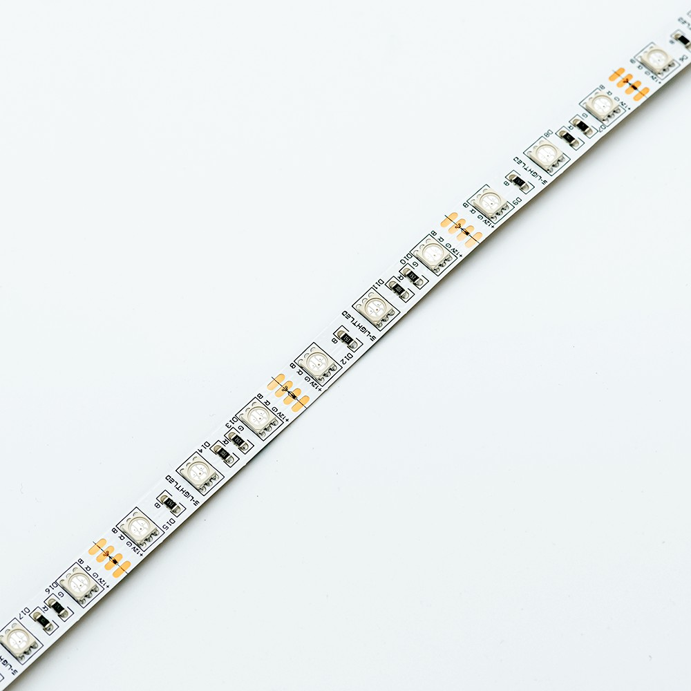 SL-RGB-5050WN-12VDC  60LED/méter IP20 beltéri S-LIGHTLED RGB LED szalag