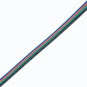 Vezeték  RGB 4-eres színes vezeték RGB LED szalaghoz 4x0,35mm2