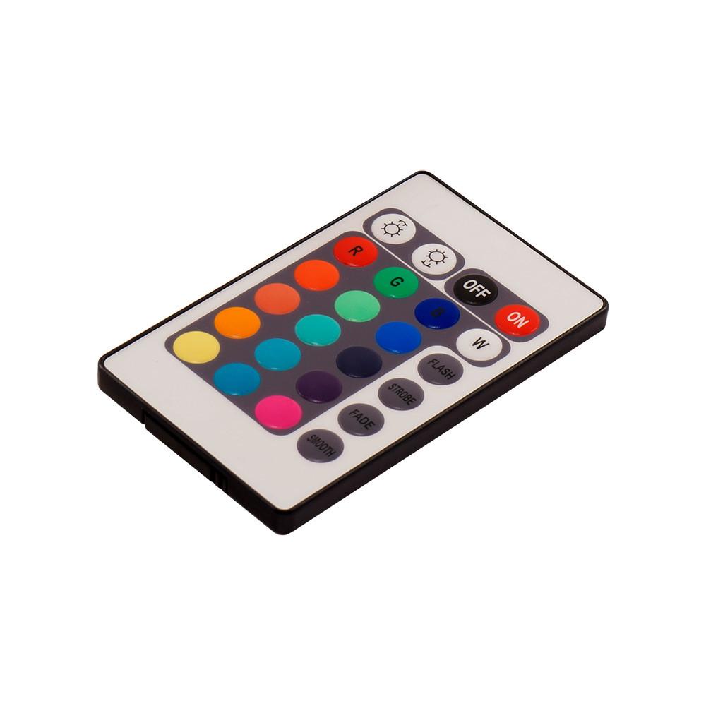 RGB LED VEZÉRLŐ SL-IR24 72W/12V IR (infravörös) 24 gombos távirányítóval