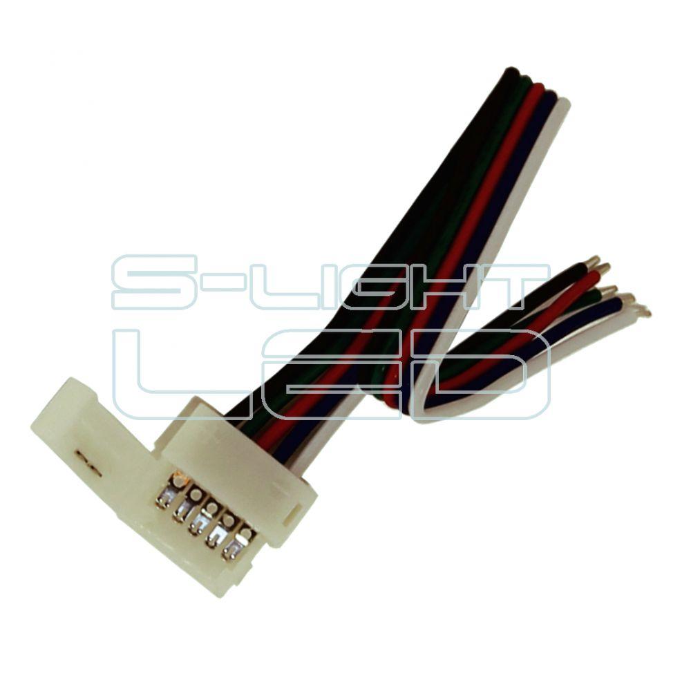 RGBW LED szalaghoz betáp vezeték