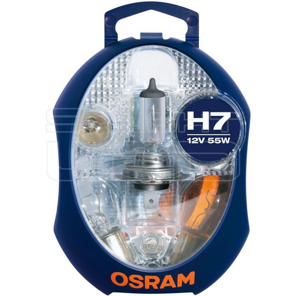 AUTOS OSRAM H7 tartalék izzó csomag CLKM