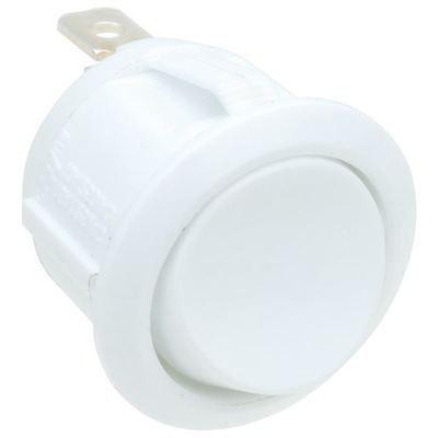 ROCKER kapcsoló 6A/250VAC; 20A/12VDC; ON-OFF fekete vagy fehér szín