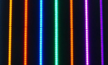 SZÍNES egyszínű LED szalag