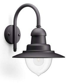 Philips 16523016 Raindrop kültéri fali lámpa (fekete) 1x60W 230V
