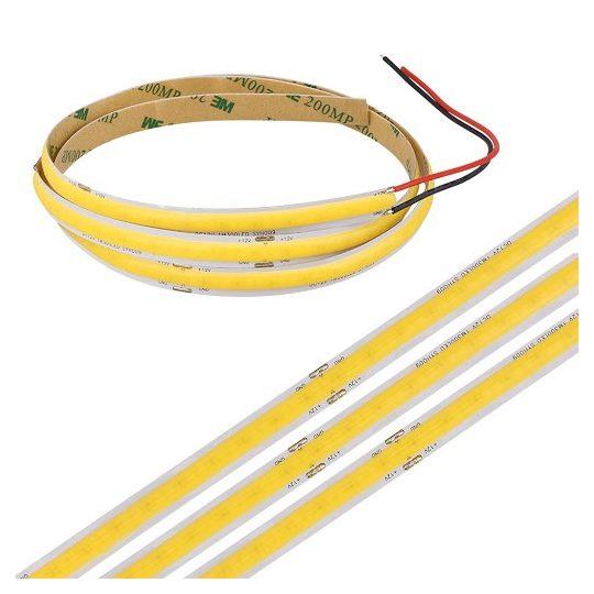 SL-COB LED S-LIGHTLED SZALAG IP20 beltéri 3000K 9W/M
