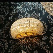 IDEAL LUX PASHA AP3 Oro kristály oldalfali