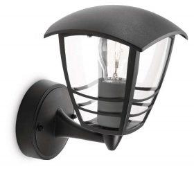 PHILIPS  Creek wall lantern black 1x60W 230V15380/30/16