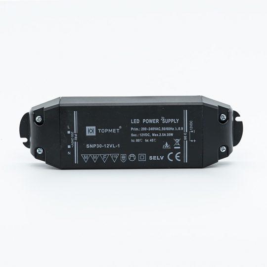 SNP 30-12 30W TOPMET 12V LED tápegység