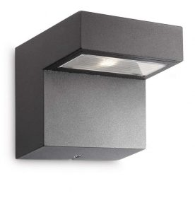 PHILIPS  Riverside wall lantern anthracite 3x1W16320/93/16