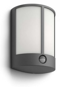 PHILIPS  Stock IR wall lantern anthracite 1x6W16465/93/16