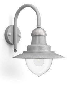 Philips 16525216 Raindrop kültéri fali lámpa (acél) 1x60W 230V