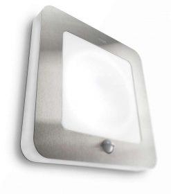 Philips 169024716 Orchard kültéri fali lámpa (rozsdamentes acél) 1x22W 230V mozgásérzékelős