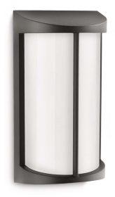 Philips 172293016 Pond kültéri fali lámpa (fekete) 1x23W 230V