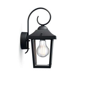 Philips 1723630PN Buzzard kültéri fali lámpa (fekete) 1x60W 230V