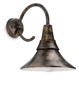 Philips 172584216 Fowl kültéri fali lámpa (bronz, antik) 1x20W 230V