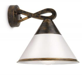 Philips 172594216 Fig kültéri fali lámpa (antikolt bronz) 1x15W 230V