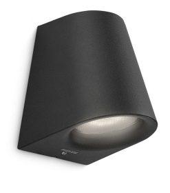 Philips 172873016 Virga kültéri fali lámpa (fekete) 1x3W