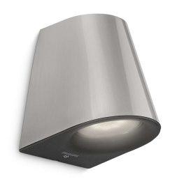 Philips 172874716 Virga kültéri fali lámpa (rozsdamentes acél) 1x3W