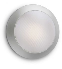 Philips 1729147P3 Halo kültéri fali lámpa (rozsdamentes acél) 1x3W 230V