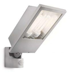 Philips 175168716 Botanic kültéri fali lámpa (szürke) 2x23W mozgásérzékelős