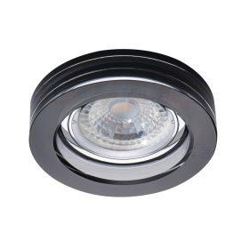 Kanlux MORTA B CT-DSO50-B fekete üveg spot 22116