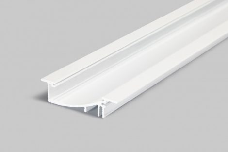 LED profil FLAT8 fehér