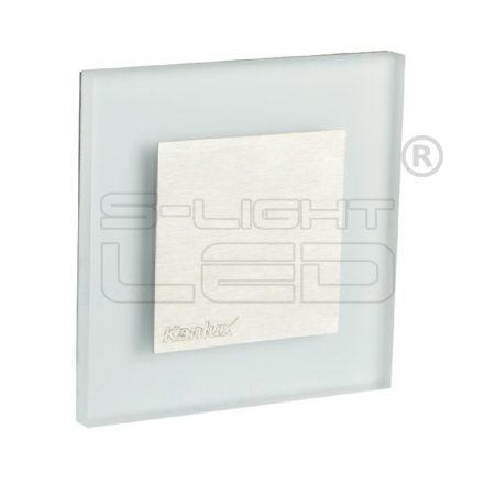 Kanlux lépcsővilágító LED lámpatest APUS LED hideg fehér 23107