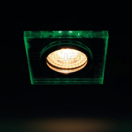 Kanlux SOREN L-GN spot lámpa GU10 zöld fénnyel 24415