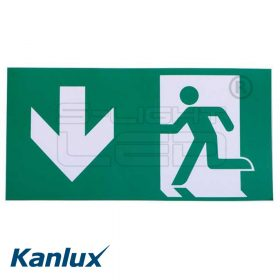 Kanlux EXIT PICTO-DOWN1-N ábra 300x150mm