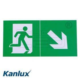Kanlux EXIT PICTO-STEP1-N ábra 300x150mm