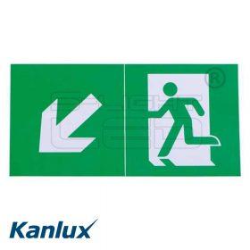 Kanlux EXIT PICTO-STEP2-N ábra 300x150mm