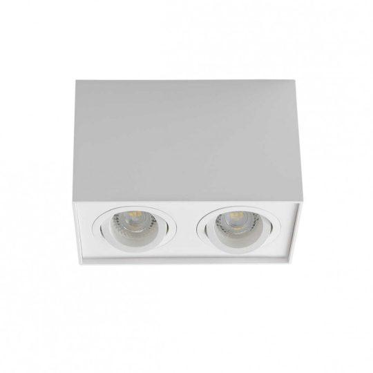 Kanlux GORD DLP 250-W falon kívüli kettes spot lámpa 25473 fehér