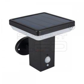 Kanlux SOLCA L PV EL-B solar fali lámpa mozgásérzékelővel 25774